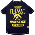Iowa Hawkeyes Pet Tee Shirt - staygoldendoodle.com
