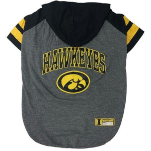 Iowa Hawkeyes Pet Hoodie T-Shirt - staygoldendoodle.com