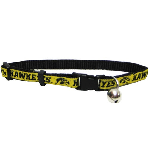 Iowa Hawkeyes Breakaway Cat Collar - staygoldendoodle.com