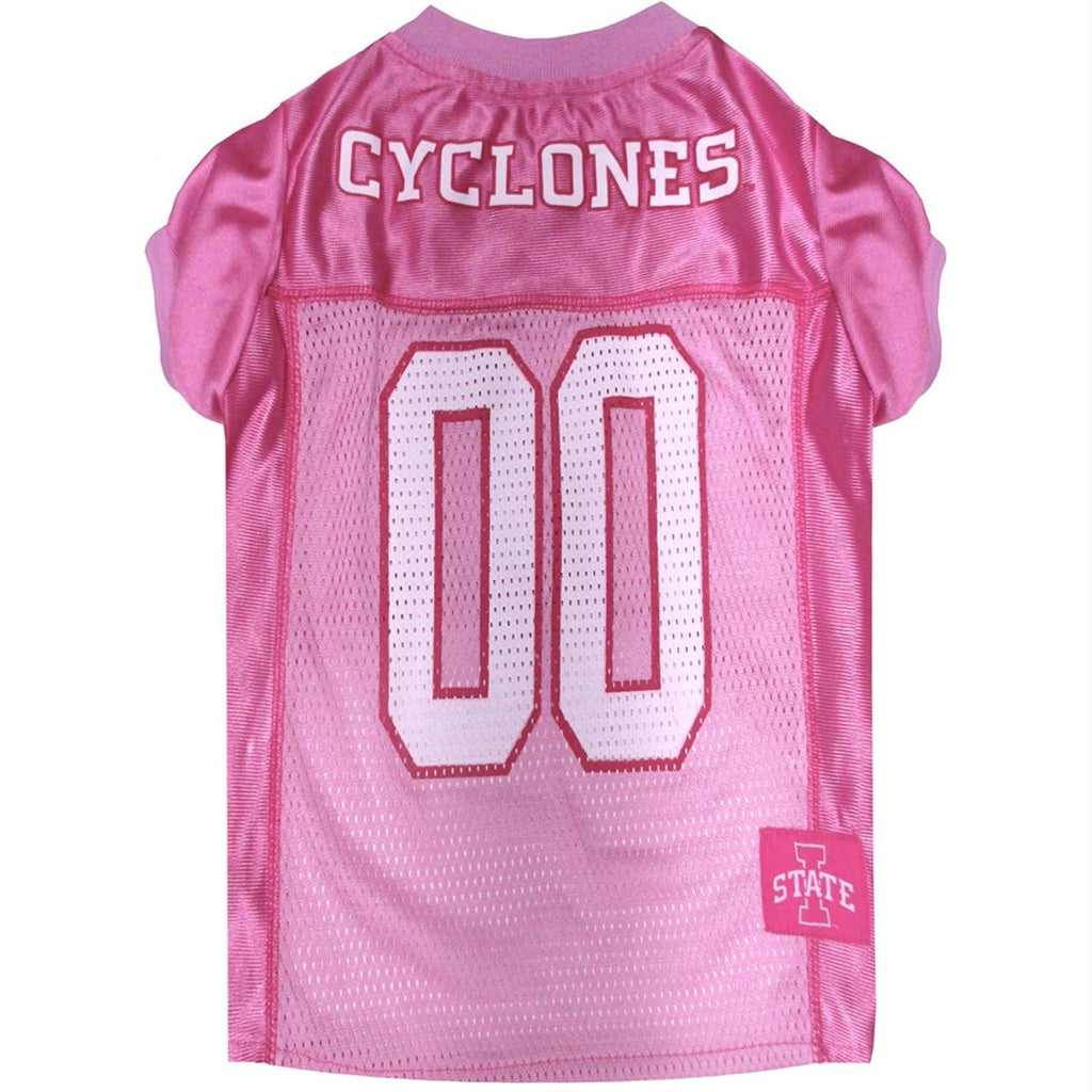 Iowa State Cyclones Pink Pet Jersey - staygoldendoodle.com