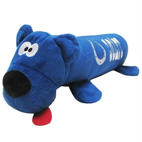 Indianapolis Colts Plush Tube Pet Toy - staygoldendoodle.com