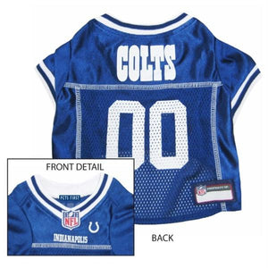 Indianapolis Colts Dog Jersey - staygoldendoodle.com