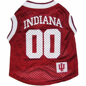 Indiana Hoosiers Pet Basketball Tank Jersey - staygoldendoodle.com