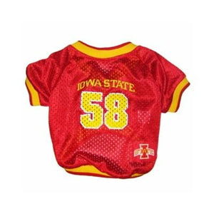 Iowa State Dog Jersey - staygoldendoodle.com