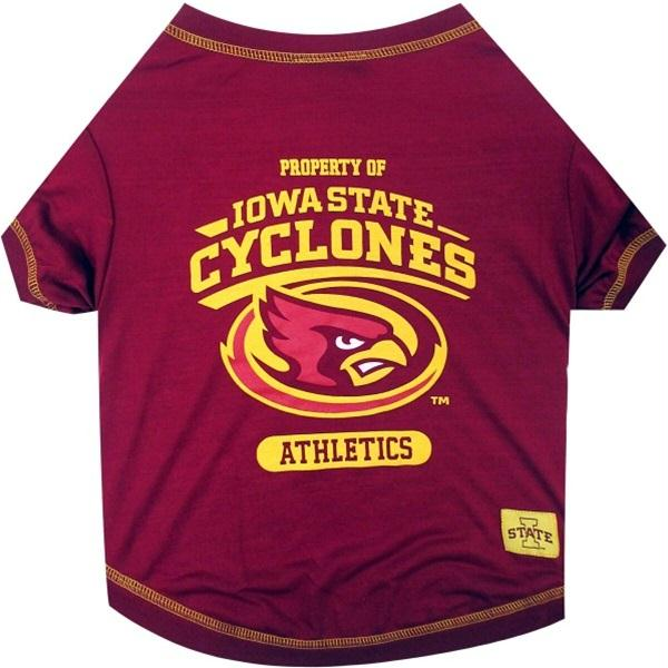 Iowa State Cyclones Pet Tee Shirt - staygoldendoodle.com