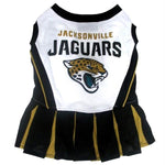 Jacksonville Jaguars Cheerleader Pet Dress - staygoldendoodle.com