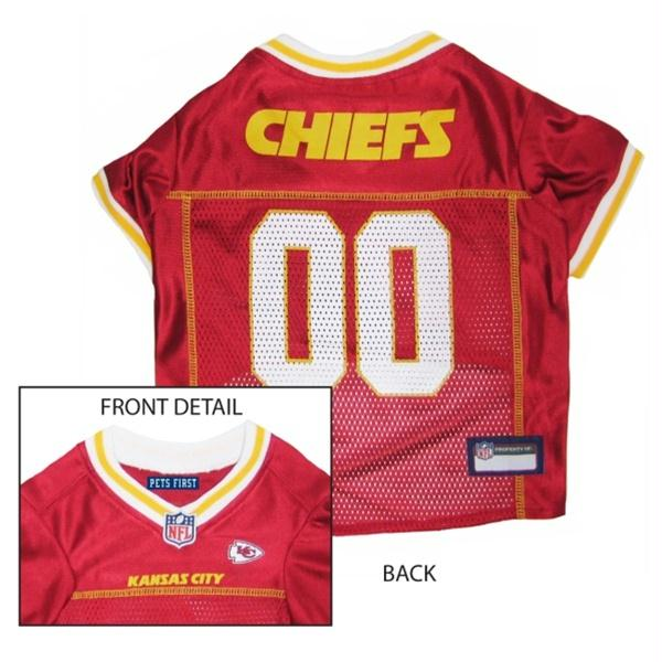 Kansas City Chiefs Dog Jersey - staygoldendoodle.com