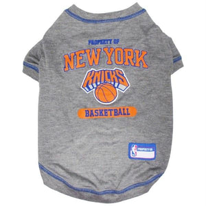 New York Knicks Pet T-Shirt - staygoldendoodle.com