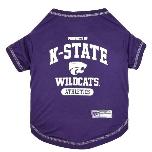 Kansas State Wildcats Pet Tee Shirt - staygoldendoodle.com