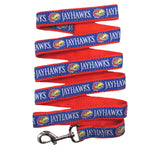 Kansas Jayhawks Pet Leash by Pets First - staygoldendoodle.com