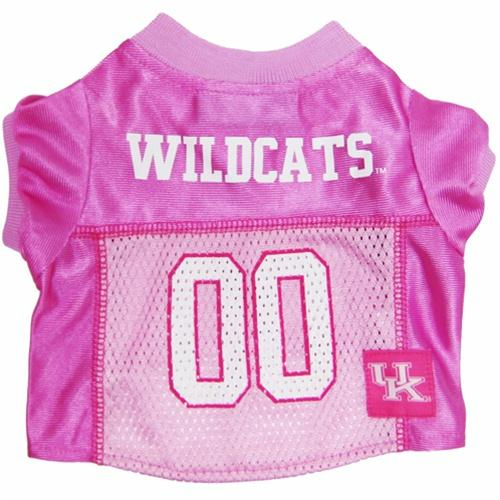 Kentucky Wildcats Pink Dog Jersey - staygoldendoodle.com
