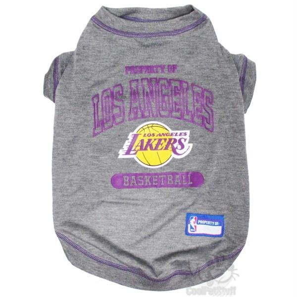 Los Angeles Lakers Pet T-Shirt - staygoldendoodle.com