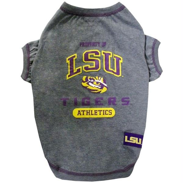 LSU Tigers Pet Tee Shirt - staygoldendoodle.com