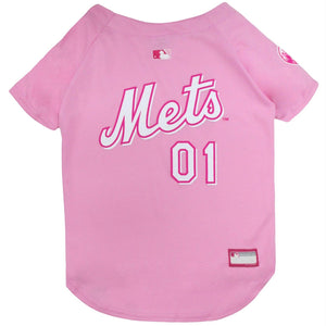 New York Mets Pet Pink Jersey - staygoldendoodle.com