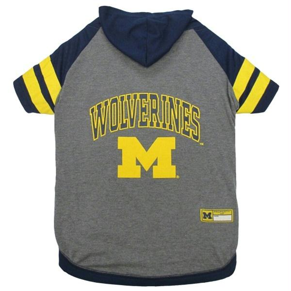 Michigan Wolverines Pet Hoodie T-Shirt - staygoldendoodle.com