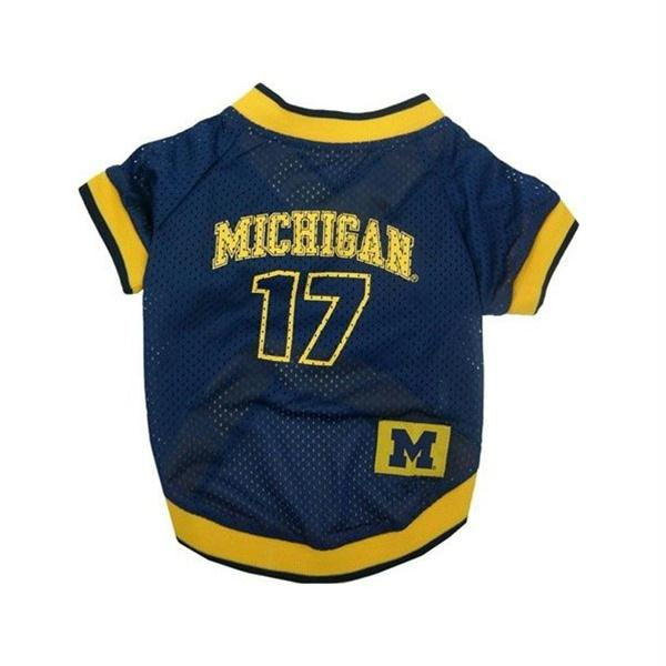 Michigan Wolverines Dog Jersey - staygoldendoodle.com