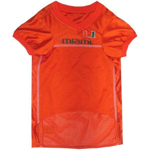 Miami Hurricanes Pet Jersey - staygoldendoodle.com