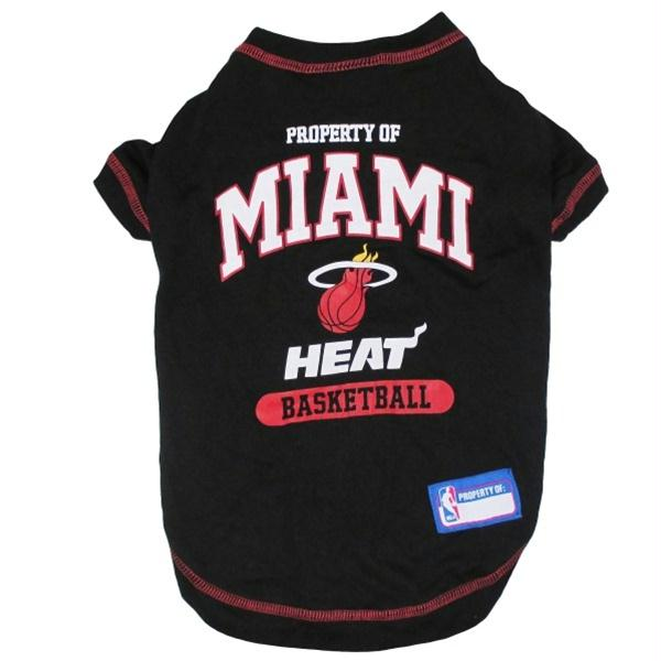 Miami Heat Pet T-Shirt - staygoldendoodle.com