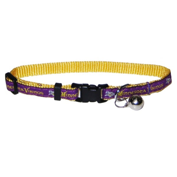 Minnesota Vikings Breakaway Cat Collar - staygoldendoodle.com