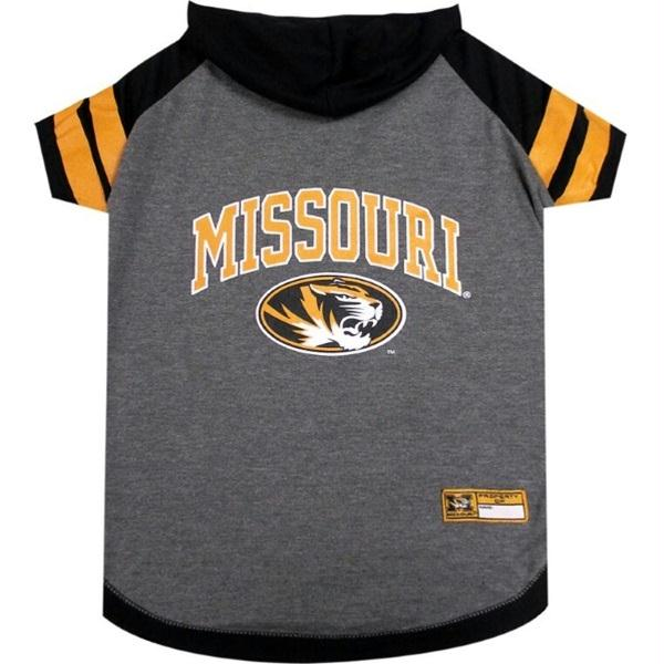 Missouri Tigers Pet Hoodie T-Shirt - staygoldendoodle.com