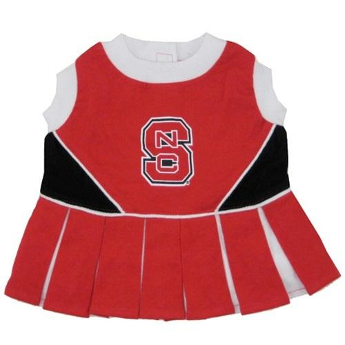 NC State Wolfpack Cheerleader Pet Dress - staygoldendoodle.com