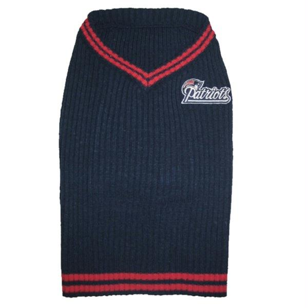 New England Patriots Dog Sweater - staygoldendoodle.com