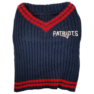 New England Patriots Pet Sweater - staygoldendoodle.com