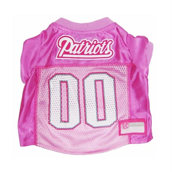 New England Patriots Pink Dog Jersey - staygoldendoodle.com