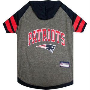 New England Patriots Pet Hoodie T-Shirt - staygoldendoodle.com