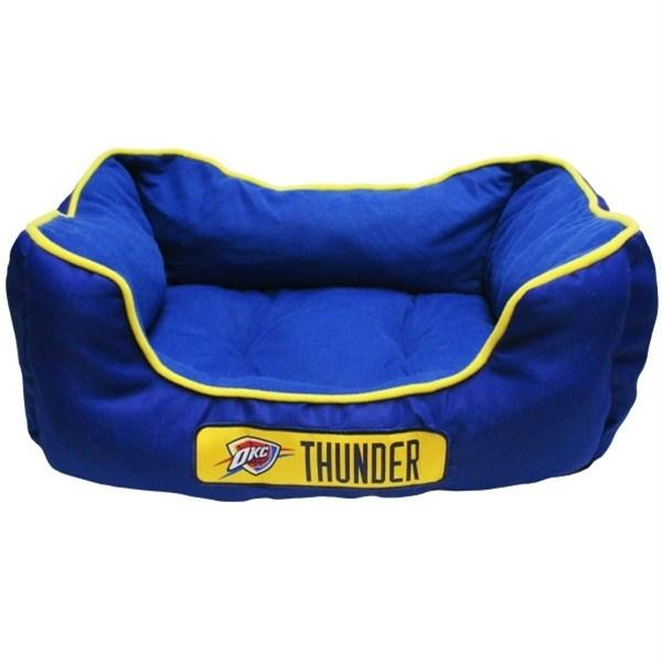 Oklahoma City Thunder Pet Bed - staygoldendoodle.com