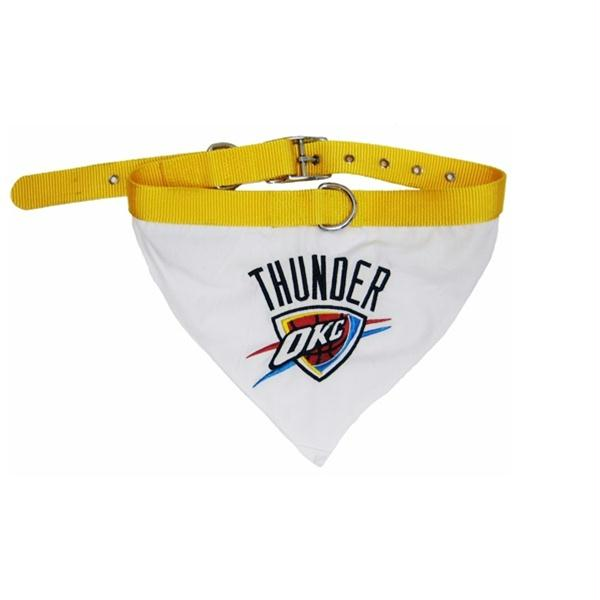 Oklahoma City Thunder Dog Collar Bandana - staygoldendoodle.com