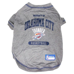 Oklahoma City Thunder Pet T-Shirt - staygoldendoodle.com