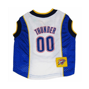 Oklahoma City Thunder Dog Jersey - staygoldendoodle.com