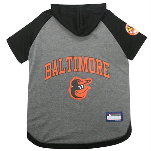Baltimore Orioles Pet Hoodie T-Shirt - staygoldendoodle.com