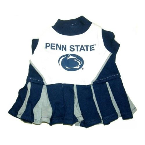 Penn State Nittany Lions Cheerleader Pet Dress - staygoldendoodle.com