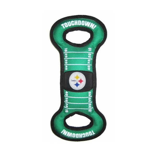 Pittsburgh Steelers Field Pull Dog Toy - staygoldendoodle.com