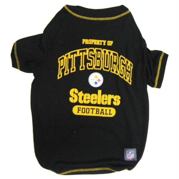 Pittsburgh Steelers Dog T-Shirt - staygoldendoodle.com