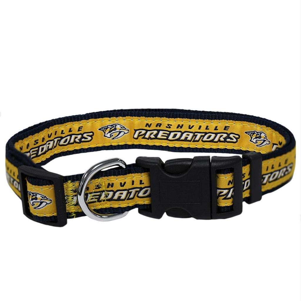 Nashville Predators Pet Collar by Pets First - Small - staygoldendoodle.com