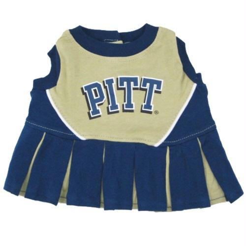 Pittsburgh Panthers Cheerleader Pet Dress - staygoldendoodle.com