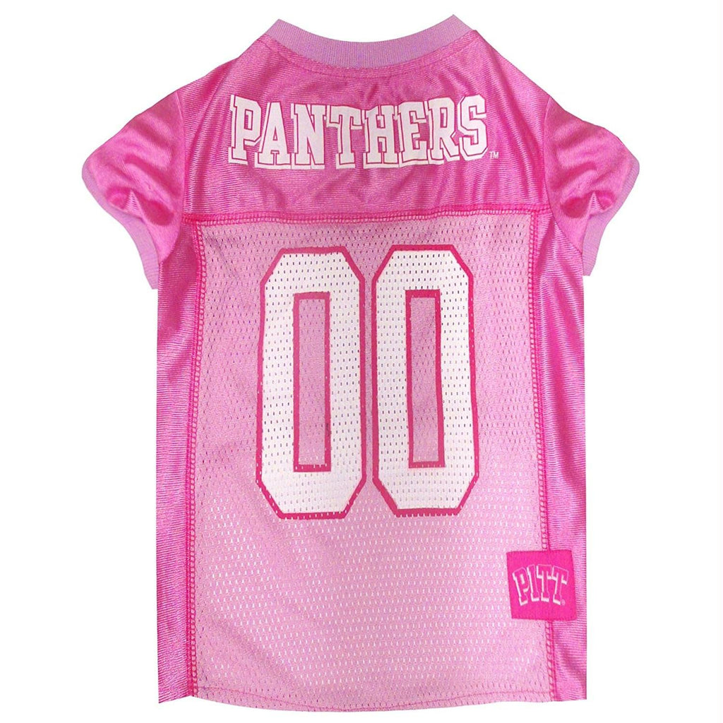 Pittsburgh Panthers Pink Pet Jersey - staygoldendoodle.com