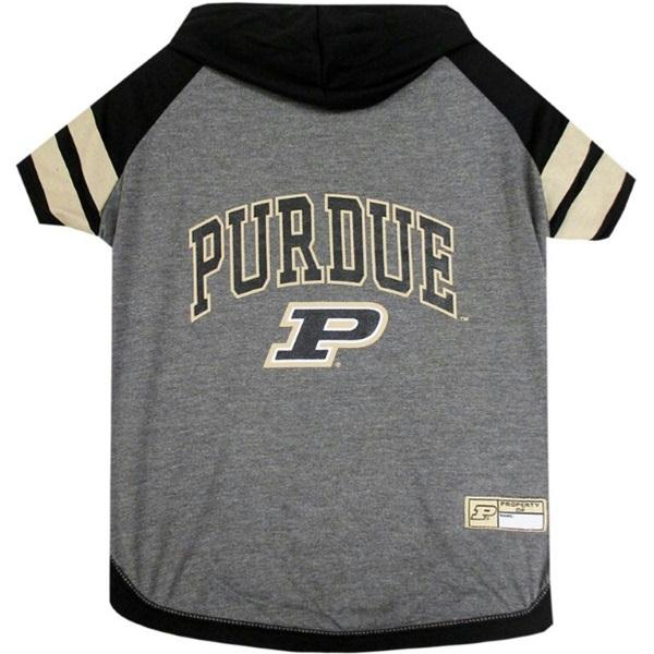 Purdue Boilermakers Pet Hoodie T-Shirt - staygoldendoodle.com