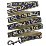 Los Angeles Rams Pet Leash by Pets First - staygoldendoodle.com