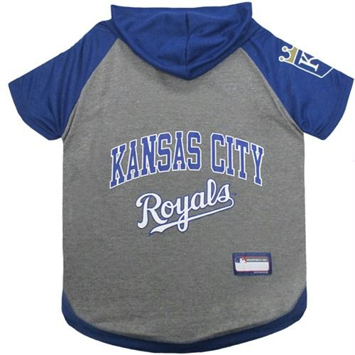 Kansas City Royals Pet Hoodie T-Shirt - staygoldendoodle.com