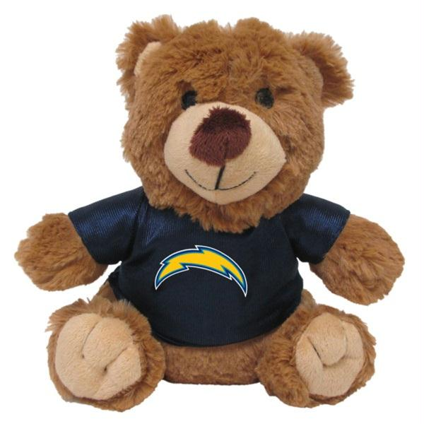 Los Angeles Chargers Teddy Bear Pet Toy - staygoldendoodle.com