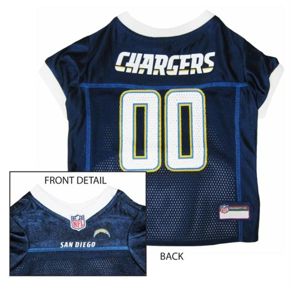 Los Angeles Chargers Dog Jersey - staygoldendoodle.com