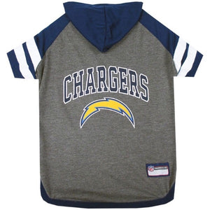 San Diego Chargers Pet Hoodie T-Shirt - staygoldendoodle.com