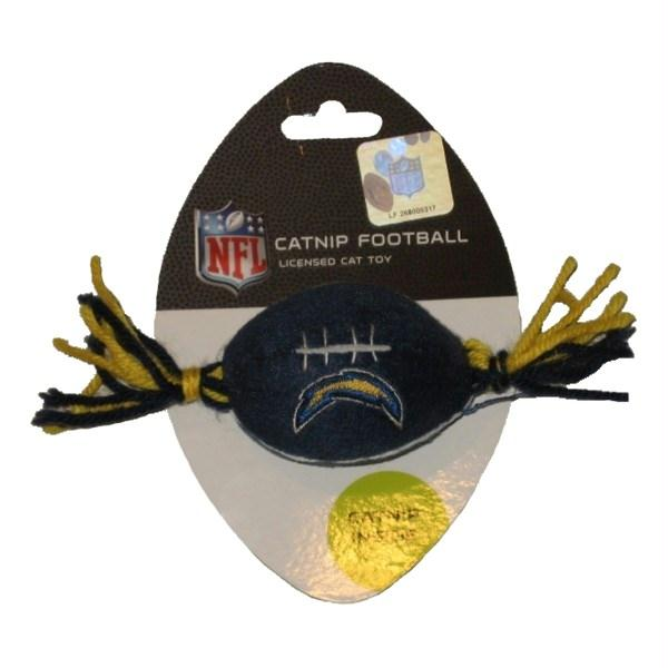 Los Angeles Chargers Catnip Toy - staygoldendoodle.com