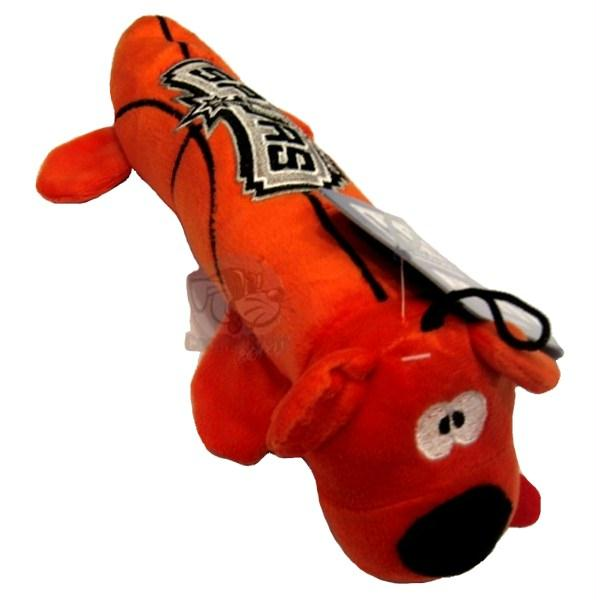 San Antonio Spurs Plush Tube Pet Toy - staygoldendoodle.com