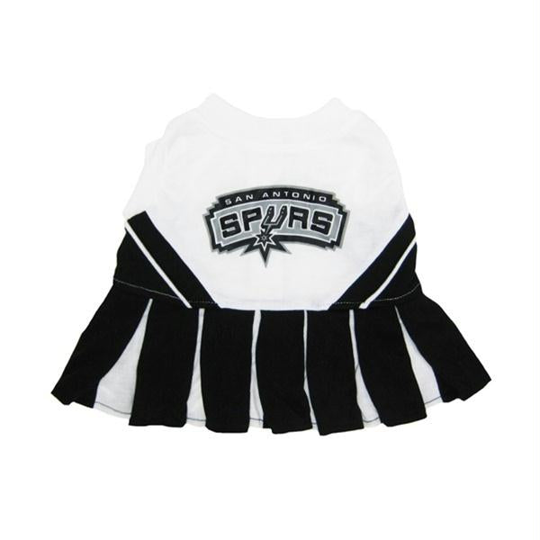 San Antonio Spurs Cheerleader Dog Dress - staygoldendoodle.com