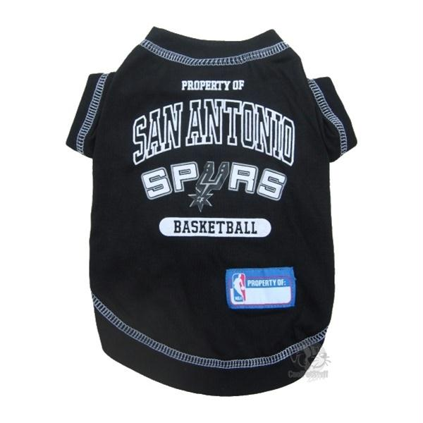 San Antonio Spurs Pet T-Shirt - staygoldendoodle.com